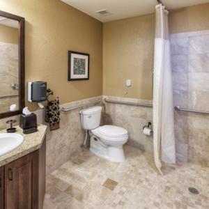 Private Care Facility Bathroom