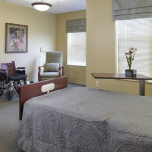Private Care Facility Resident Room